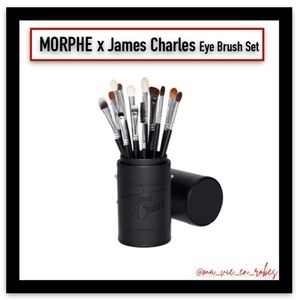 "MORPHE x James Charles, ""The Eye Brush Set"""
